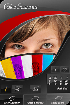 Screenshot Color Scanner